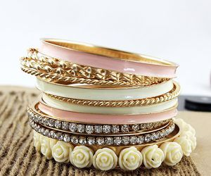 bracelet and accessories image