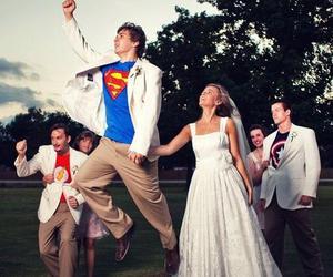 bride, fun, and wedding image