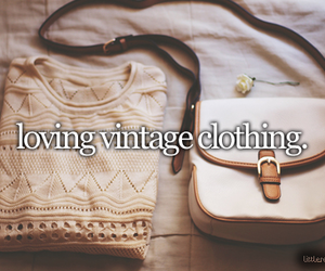 vintage, love, and clothing image