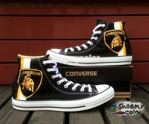 1f30394541be2 Aliexpress.com : Buy Bon Jovi Converse Hand Painted Black Canvas ...