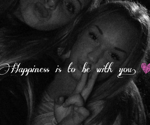 bff, happiness, and quote image