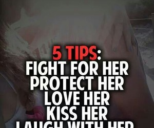 love, kiss, and fight image