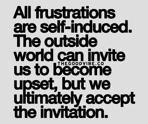 quote, frustration, and accept image