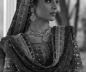 beautiful, pakistani dress, and asewome image