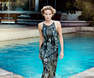 actress, Jennifer Lawrence, and water image