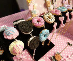 bracelet, sweet, and donuts image