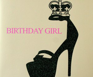 crazy, pink, and happy birth day image