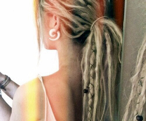 dreads, hair, and dreadlocks image