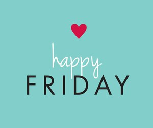 friday, happy, and weekend image
