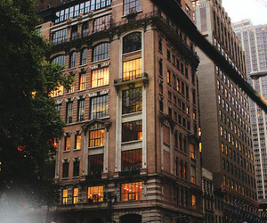 city, building, and new york image