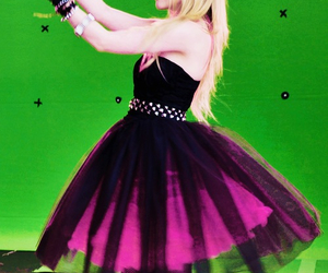 Avril Lavigne and dress image