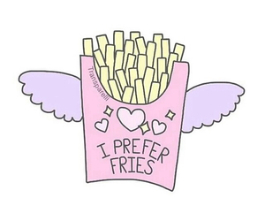 ?, fries, and fries before guys image