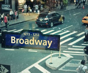 broadway, new york, and street image
