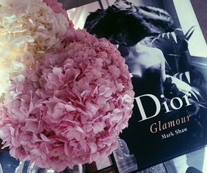 flowers, dior, and fashion image
