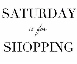shopping, girl, and saturday image