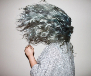 hair, grunge, and girl image