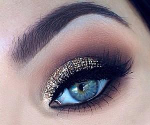 eye, girl, and fashion image