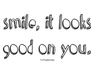 smile, words, and text image