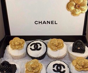 chanel, golden, and sweet image