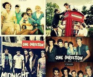 one direction, album, and four image