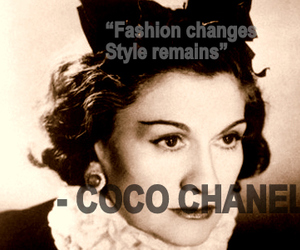 coco chanel, quote, and text image