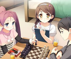 anime, kantoku, and chess image