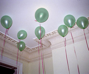 balloons and green image