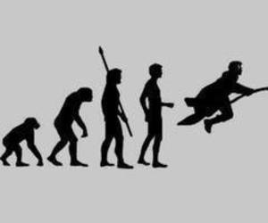 harry potter, evolution, and magic image