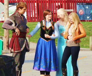 anna, georgina haig, and frozen image