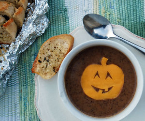 bread, food, and Halloween image