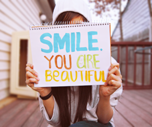 message, please, and smile image