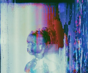 digital art, glitch, and glitch art image