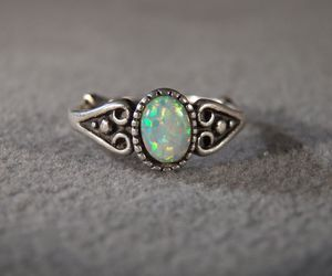 ring and opal image