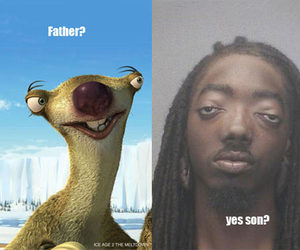 funny, lol, and ice age image