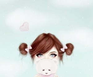girly_m, girl, and drawing image
