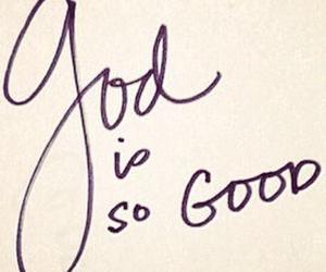 god, good, and jesus image