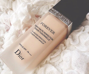 dior, makeup, and Foundation image