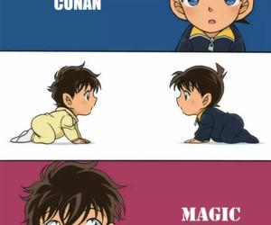 kids, kaito kid, and cute image