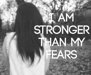 fear, strong, and girl image