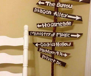 diy, hogsmeade, and harry potter image