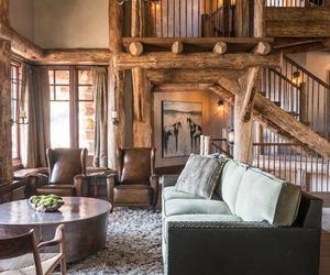 decor, cabin, and interior image