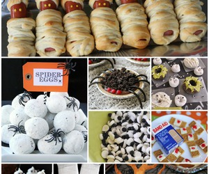 autumn, party, and food image