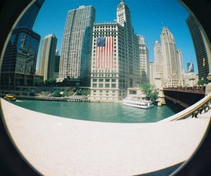 america, chicago, and flag image