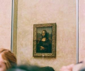 art, Leonardo da Vinci, and mona lisa image