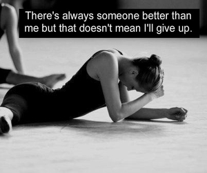 dance, modern, and never give up image