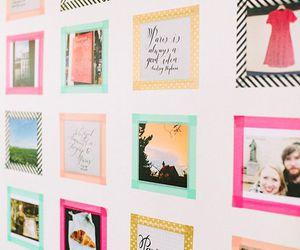 diy, photo, and wall image