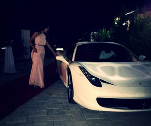 car, dress, and luxury image
