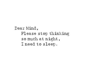quotes, sleep, and mind image
