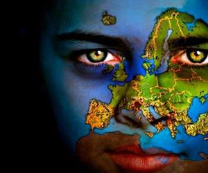 bodypaint, earth, and map image