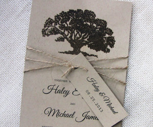 burlap, lace, and rustic image